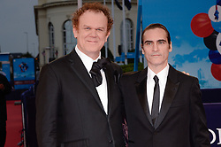 John C. Reilly, Joaquin Phoenix attending the premiere of The Sisters Brothers during the 44th Deauville American Film Festival in Deauville, France on September 4, 2018. Photo by Julien Reynaud/APS-Medias/ABACAPRESS.COM