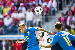 June 22, 2018 - Sankt Petersburg, Russia - 180622 Neymar of Brazil and Johnny Acosta of Costa Rica during the FIFA World Cup group stage match between Brazil and Costa Rica on June 22, 2018 in Sankt Petersburg..Photo: Petter Arvidson / BILDBYRÃ…N / kod PA / 92075 (Credit Image: © Petter Arvidson/Bildbyran via ZUMA Press)