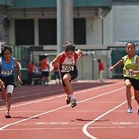 C Girls 100m