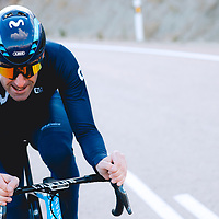 Patxi Vila. 2021 Movistar Team Training Camp, Almería. 10.1.2021.
