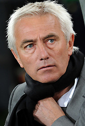 11.07.2010, Soccer-City-Stadion, Johannesburg, RSA, FIFA WM 2010, Finale, Niederlande (NED) vs Spanien (ESP) im Bild Bert Van Marwijk, Trainer Niederlande, EXPA Pictures © 2010, PhotoCredit: EXPA/ InsideFoto/ Perottino *** ATTENTION *** FOR AUSTRIA AND SLOVENIA USE ONLY! / SPORTIDA PHOTO AGENCY