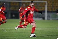 FOOTBALL - FRENCH CHAMPIONSHIP 2010/2011 - L2 - LE MANS FC v ES TROYES - 06/12/2010 - PHOTO ERIC BRETAGNON / DPPI - THORSTEIN HELSTAD (MANS)