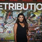 London,England,UK. 5th September 2017. Rossells Castellana attend the Retribution Film Premiere at Empire Haymarket.