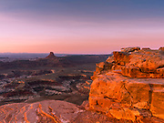 Image from Panorama Point, a beautiful, scenic, remote location in the Maze District of Canyonlands National Park, Wayne County, Utah, USA.