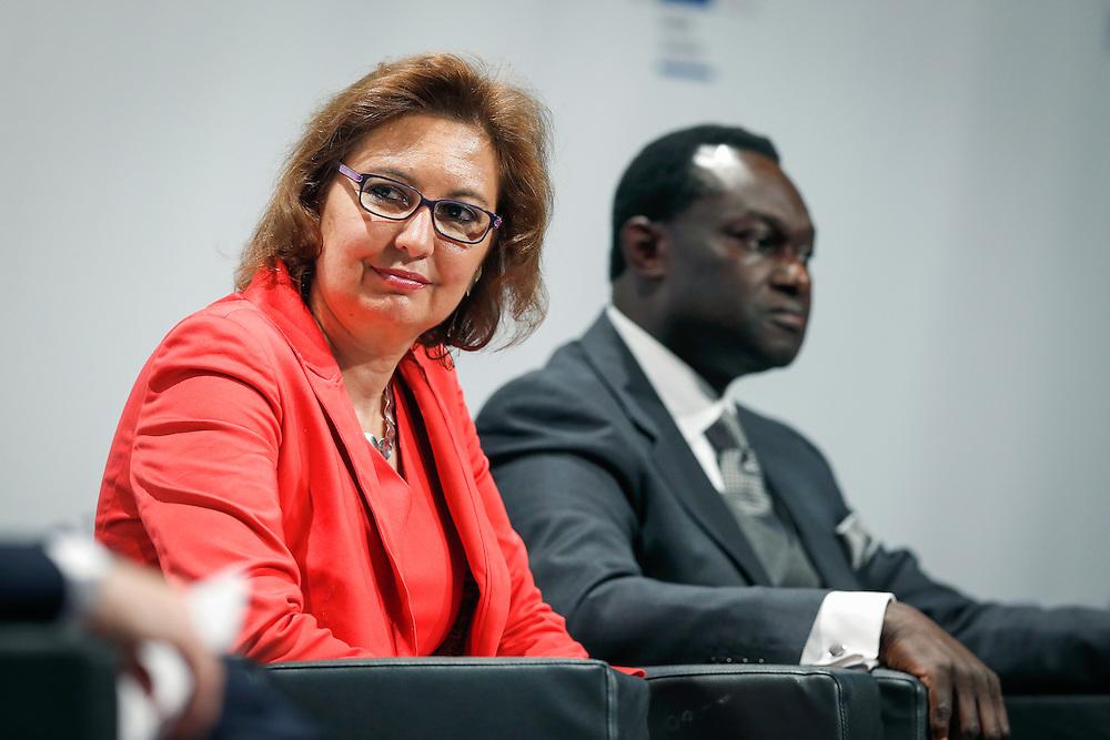 04 June 2015 - Belgium - Brussels - European Development Days - EDD - Migration - Migration is development - Making migration a driver for development - Laura Thompson , Deputy Director General , International Organization for Migration (IOM) © European Union
