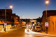 Santa Fe, NM downtown