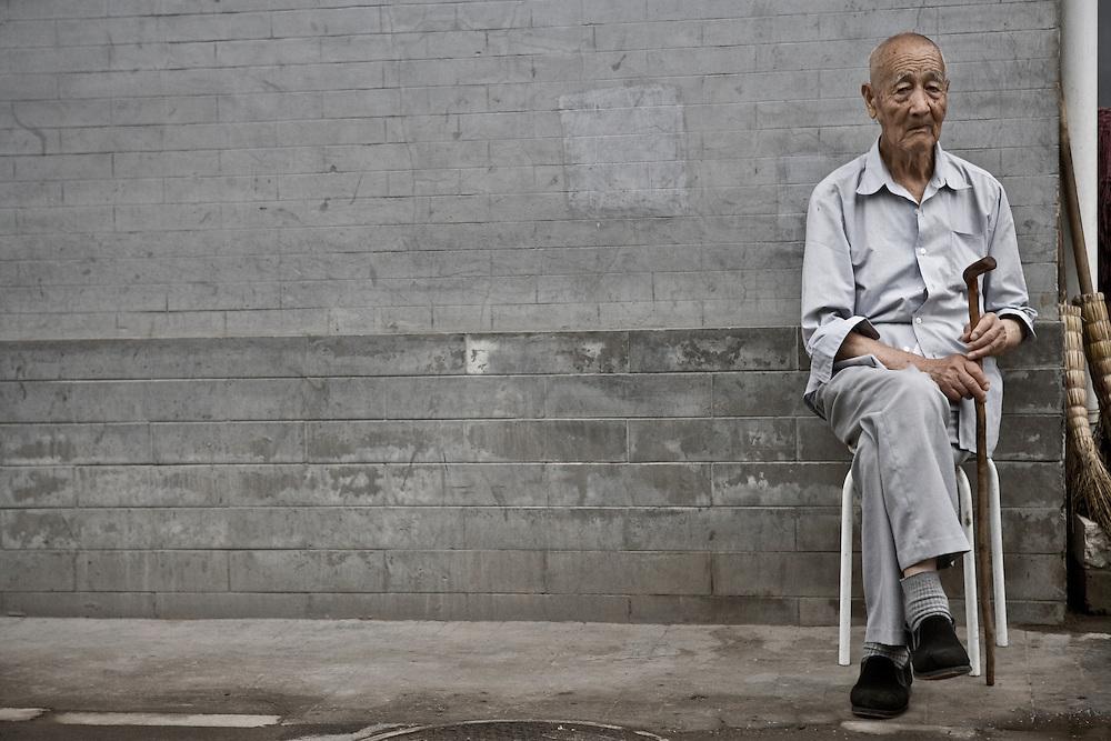 Portrait of a Chinese Senior Citizen