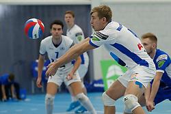 20181103 NED: Eredivisie, Sliedrecht Sport - Abiant Lycurgus: Sliedrecht<br />Steven van de Velde (4) of Abiant Lycurgus<br />©2018-FotoHoogendoorn.nl / Pim Waslander