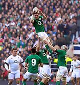 20140222 2014 RBS Six Nations Rugby; England vs Ireland. Twickenham, UK