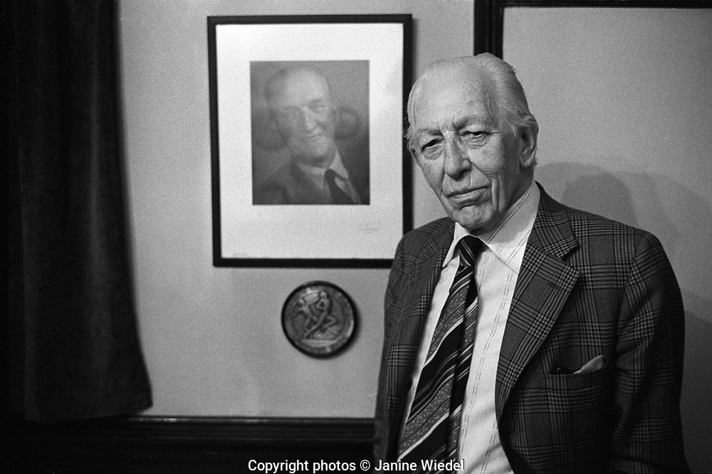 Harold Stewart Turner at Turner and Simpson Birmingham Medal company a silversmiths and enamellers in Birmingham's Jewellery Quarter in the 1970s