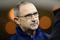 January 19, 2019 - Nottingham, England, United Kingdom - Nottingham Forest Manager Martin ONeill during the Sky Bet Championship match between Nottingham Forest and Bristol City at the City Ground, Nottingham on Saturday 19th January 2019. (Credit Image: © Mark Fletcher/NurPhoto via ZUMA Press)