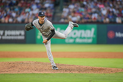 May 23, 2018 - Arlington, TX, U.S. - ARLINGTON, TX - MAY 23: New York Yankees pitcher Chasen Shreve (45) during the game between the New York Yankees and the Texas Rangers on May 23, 2018 at Globe Life Park in Arlington, TX. (Photo by George Walker/Icon Sportswire) (Credit Image: © George Walker/Icon SMI via ZUMA Press)