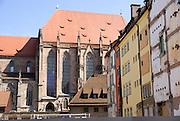 St. Lorenz church, Nuremberg, Bavaria, Germany