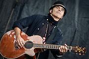 Nils Lofgrin at the Union County Music Festival, Clark, NJ 9/12/10