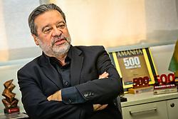 Jorge Polydoro, presidente da Revista Amanhã. FOTO: Marcos Nagelstein/ Agência Preview