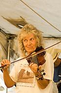 Lady Fiddler, Montana Old Time Fiddlers Picnic, Livingston, Montana, <br /> MODEL RELEASED