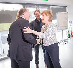 Rt Hon Nicola Sturgeon, First Minister of Scotland and internationalists from Oriam's sporting partners officially open the £33m Heriot-Watt University Edinburgh facility. Stewart Regan, Scottish FA.