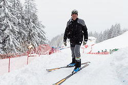 18.01.2018, Hahnenkamm, Kitzbühel, AUT, FIS Weltcup Ski Alpin, Kitzbuehel, Abfahrt, Herren, 3. Training, im Bild Markus Waldner (FIS Chef Renndirektor Weltcup Ski Alpin Herren) // Markus Waldner Chief Race Director World Cup Ski Alpin Men of FIS in action during the 3rd practice run of men's Downhill of FIS Ski Alpine World Cup at the Hahnenkamm in Kitzbühel, Austria on 2018/01/18. EXPA Pictures © 2018, PhotoCredit: EXPA/ Johann Groder