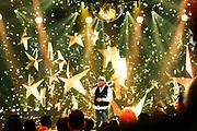 """Auftritt von DJ Ötzi bei der SRF-Pop-Schlager-Show """"Hello Again"""". Aufzeichnung vom 14. April 2019 in den Fernsehstudios Zürich."""