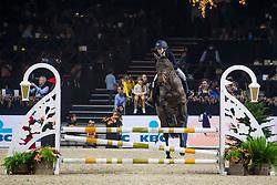 Pauwels Yenthe, BEL, Ilia<br /> Jumping Mechelen 2019<br /> © Hippo Foto - Sharon Vandeput<br /> 26/12/19