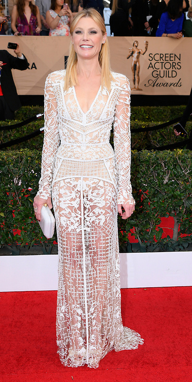 January 29, 2017 - Los Angeles, California, United States - Julie Bowen on the red carpet at 23rd Annual Screen Actors Guild Awards  at The Shrine Expo Hall in Los Angeles on Sunday, January 29, 2017. (Credit Image: © John Mccoy/Los Angeles Daily News via ZUMA Wire)