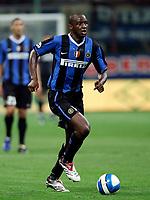 Fotball<br /> Italia<br /> Foto: Inside/Digitalsport<br /> NORWAY ONLY<br /> <br /> Milano 26/8/2006 <br /> Supercoppa Italiana Inter v Roma 4-3<br /> <br /> Patrick VIEIRA Inter