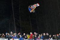 Snowboard , X-Games Oslo <br /> 26. Februar 2016  , 20160226<br /> Snowboard, Half Pipe, Wyller, X-Games <br /> Ayumu Hirano i lufta underveis i mennens finale <br /> Foto: Sjur Stølen / Digitalsport