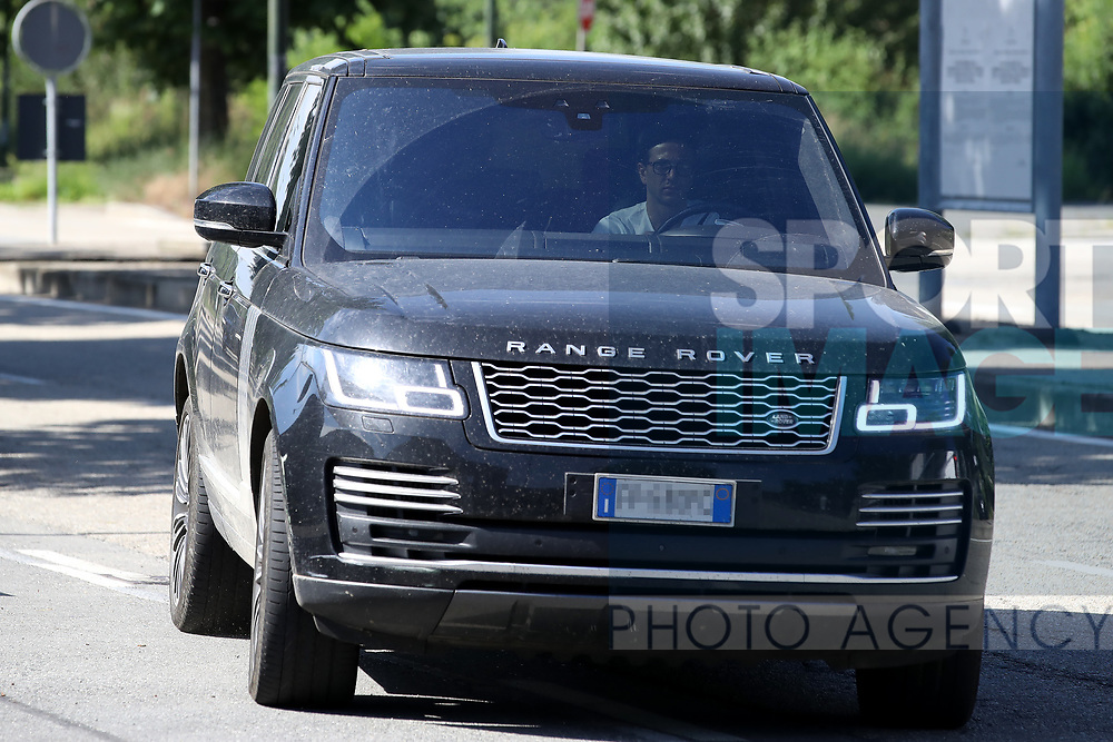 Juventus's Italian midfielder Federico Bernardeschi arrives for training as part of Serie A restart at the Juventus Training Centre, Turin. Picture date: 20th May 2020. Picture credit should read: Jonathan Moscrop/Sportimage
