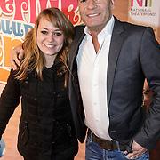 NLD/Amsterdam/20150201 - Premiere Heerlijk duurt het Langst, Ron Boszhardt en dochter