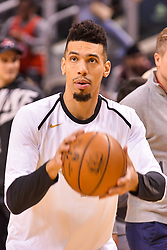 January 11, 2019 - Toronto, Ontario, Canada - Danny Green #14 of the Toronto Raptors with the ball..before the Toronto Raptors vs Brooklyn Nets NBA regular season game at Scotiabank Arena on January 11, 2019, in Toronto, Canada (Toronto Raptors win 122-105) (Credit Image: © Anatoliy Cherkasov/NurPhoto via ZUMA Press)