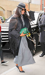 Naomi Campbell is seen arriving at the Pirelli event in New York City. 10 Nov 2017 Pictured: Naomi Campbell. Photo credit: ZapatA/MEGA TheMegaAgency.com +1 888 505 6342