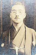 adult man wearing a kimono Japan ca 1930s