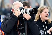 Leden van de koninklijke familie nemen deel aan de tweede editie van De Hollandse 100 op FlevOnice, een sportief evenement van fonds Lymph&Co ter ondersteuning van onderzoek naar lymfeklierkanker. <br /> <br /> Members of the royal family take part in the second edition of the Dutch 100 on FlevOnice, a sporting event Lymph & Co fund to support research into lymphoma.<br /> <br /> Op de foto / On the photo:  Pieter van Vollenhoven