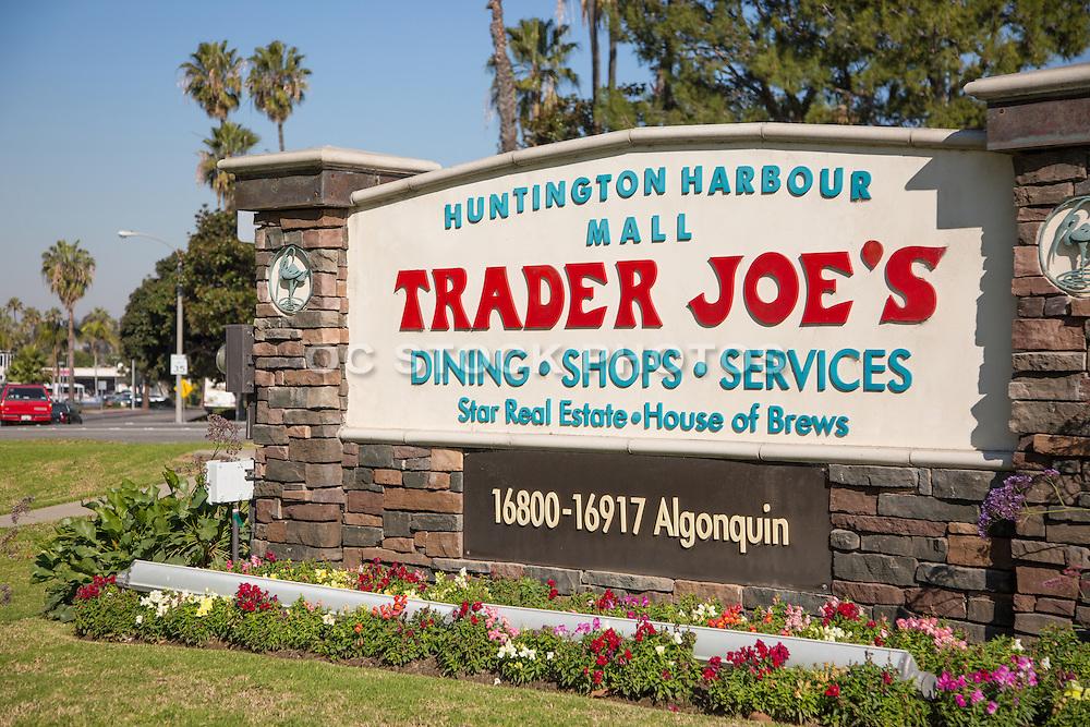 Huntington Harbour Mall in Huntington Beach