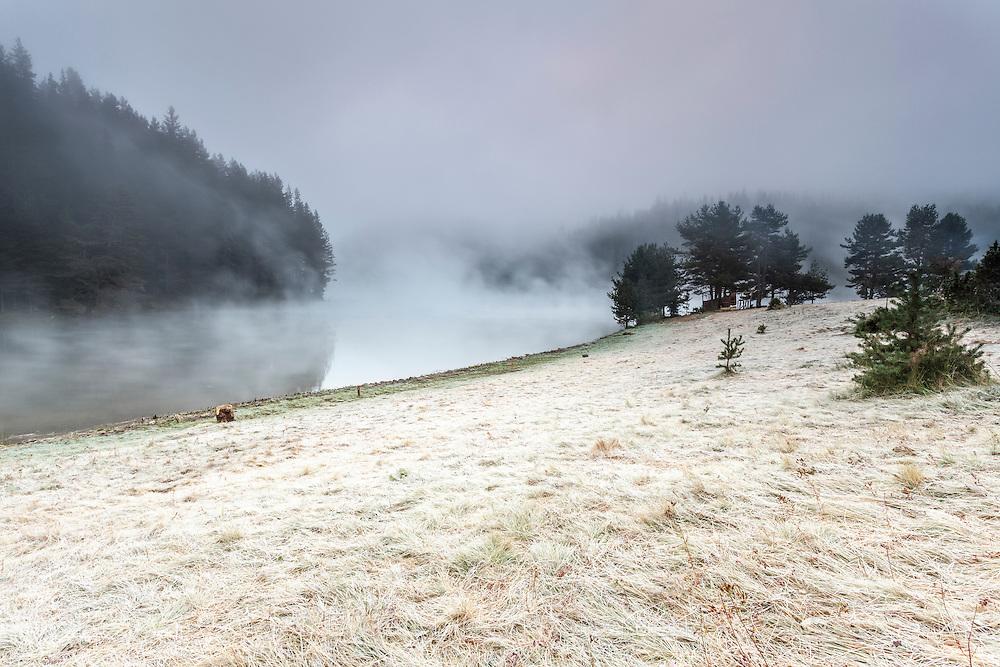 September morning at Begliga lake