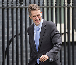 © Licensed to London News Pictures. 15/07/2016. London, UK. New Conservative Party Chief Whip Gavin Williamson arrives in Downing Street  Photo credit: Peter Macdiarmid/LNP