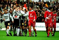 Brann-Rossenborg 2-6 Bergen 28.10.2001<br />Bengt Inge Johansen Skårer 4-1 målet til<br />Rssenborg so vinner elite serien<br />Foto:Chris Kyllingmark.Digitalsport
