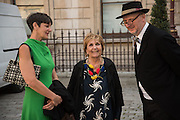PAULA REGO; BOB AND ROBERTA SMITH, Royal Academy Annual dinner, Piccadilly, London. 6 June 2016