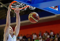 Edo Muric of Slovenia during friendly match between National teams of Slovenia and Turkey for Eurobasket 2013 on August 4, 2013 in Arena Zlatorog, Celje, Slovenia. (Photo by Vid Ponikvar / Sportida.com)