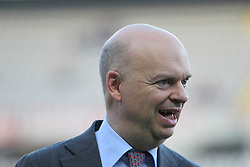 April 18, 2018 - Turin, Italy - Marco Fassone, manager of AC Milan, during the Serie A football match between Torino FC and AC Milan at Olympic Grande Torino Stadium  on April 18, 2018 in Turin, Italy. .Final result: 1-1  (Credit Image: © Massimiliano Ferraro/NurPhoto via ZUMA Press)