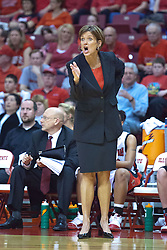 1 April 2010: Robin Pingeton. The Redbirds of Illinois State are dropped by the Golden Bears of California 61-45 in the semi-final round of the 2010 Women's National Invitational Tournament (WNIT) on Doug Collins Court inside Redbird Arena at Normal Illinois.