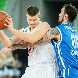 20141223: SLO, Basketball - ABA League 2014/15, KK Union Olimpija vs Cibona Zagreb