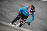 #100 (PAJON Mariana) COL at Round 6 of the 2019 UCI BMX Supercross World Cup in Saint-Quentin-En-Yvelines, France