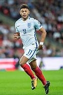(11) Alex Oxlade-Chamberlain during the FIFA World Cup Qualifier match between England and Slovakia at Wembley Stadium, London, England on 4 September 2017. Photo by Sebastian Frej.