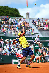 May 30, 2018 - Paris, U.S. - PARIS, FRANCE - MAY 30: XX (XXX) during day four match of the 2018 French Open 2018 on May 30, 2018, at Stade Roland-Garros in Paris, France. (Photo by Chaz Niell/Icon Sportswire) (Credit Image: © Chaz Niell/Icon SMI via ZUMA Press)
