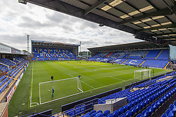 BIRKENHEAD, ENGLAND - Sunday, August 29, 2021: A general view before the FA Women's Championship game between Liverpool FC Women and London City Lionesses FC at Prenton Park. London City won 1-0. (Pic by Paul Currie/Propaganda)