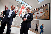 The Joan Miro, Ladder of Escape exhibition opens at the Tate Modern on 14 April 2011.  The show is introduced by the joint curators Matthew Gale and Marko Daniel, here they talk about Burn Canvas.  Guy Bell, 07771 786236, guy@gbphotos.com