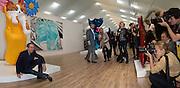 Jeff Koons, Frieze. Regent's Park. London. 17 October 2013