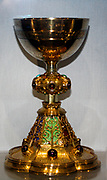 Chalice.  This chalice was shown to great acclaim at the International Exhibition in London in 1862.