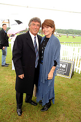 Actor BILLY MURRAY and his wife ELAINE at the Kuoni World Clas Polo Cup in aid of Breast Cancer Care held at Hurtwood Park Polo Club, Ewhurst, Surrey on 27th May 2007.<br />